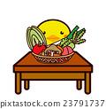 蔬菜和動物系列 23791737