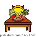 蔬菜和動物系列 23791741