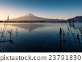 Mount Fuji view from the lake 23791830