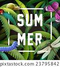 Summer graphic design 23795842