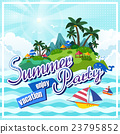 Summer poster design 23795852