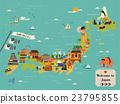 attractive Japan travel map 23795855