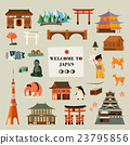 Japan attractions set 23795856