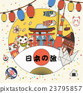colorful Japan tourism 23795857