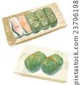 壽司 柿葉包裹的鯖魚壽司 柿葉壽司 23796198
