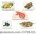 日本年菜 御节料理 传统日本新年菜肴 23796201