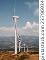 wind turbines landscape 23796934