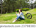 亞洲 亞洲人 自行車 23798383