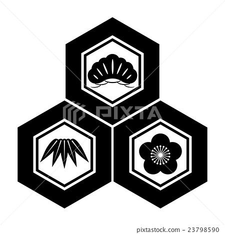 Shochiku plum threescale tortoise shell 23798590