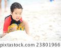 海灘 海水浴 小朋友 23801966