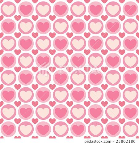 valentine seamless hearts pattern 23802180