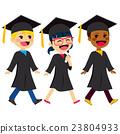 Graduation Kids Diversity 23804933