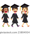 Graduation Kids Walking 23804934