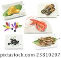 日本年菜 御节料理 传统日本新年菜肴 23810297