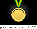 gold, medal, award 23810774
