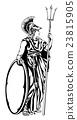 Greek Goddess Athena Warrior 23815905
