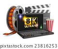 노트북, 컴퓨터, 영화 23816253