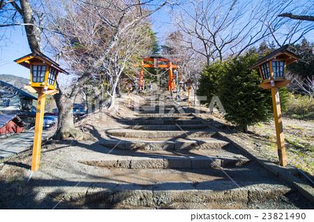 Path way up to Chureito pagoda viewpoint  23821490