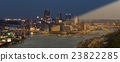 Pittsburgh Skyline sunset twilight 23822285
