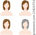 頭髮 髪 女性 23824753