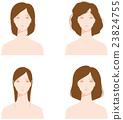頭髮稀疏的分裂頭髮 23824755