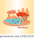 cute cartoon japan kenrokuen 23825924