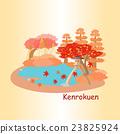 cute cartoon japan kenrokuen 23825924