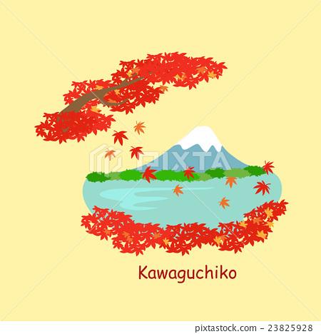 cute cartoon japan kawaguchiko 23825928