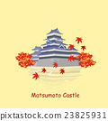cartoon japan matsumoto castle 23825931