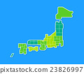 日本地圖 23826997