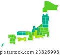 日本地圖 23826998