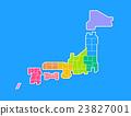 日本地圖 23827001