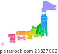 日本地圖 23827002