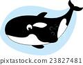 Killer Whale cartoon 23827481