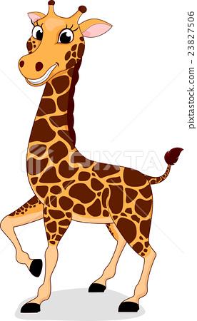 Giraffe cartoon 23827506