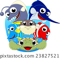 Sea Fish cartoon 23827521