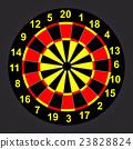 Target Darts. Vector illustrator EPS 10 23828824