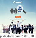 Career Job Profession Apply Hiring Concept 23830103