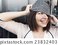 Woman Hipster Fashion Style Lifestyle Concept 23832403