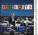Benefits Advantage Assests Bonus Wages Concept 23833496