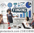 Funding Fundrising Invest Donate Budget Concept 23833898