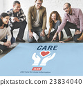 Care Give Charity Share Donation Foundation Concept 23834040