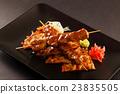 beef, skewers, grill 23835505