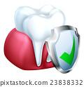 牙齿 牙科 防护 23838332