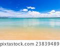 해변, 바다, 풍경, 오키나와. 23839489