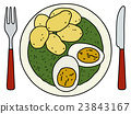Spinach with potatoes 23843167