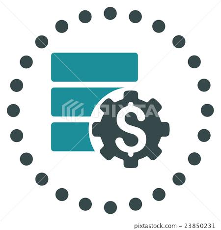 Bank Database Options Icon 23850231