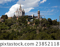 Amusement Park and Church at Tibidabo in Barcelona, Spain 23852118