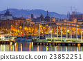 Port Vell at Barcelona in sunrise 23852251