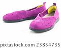 Purple sneakers. Canvas Shoe. 23854735